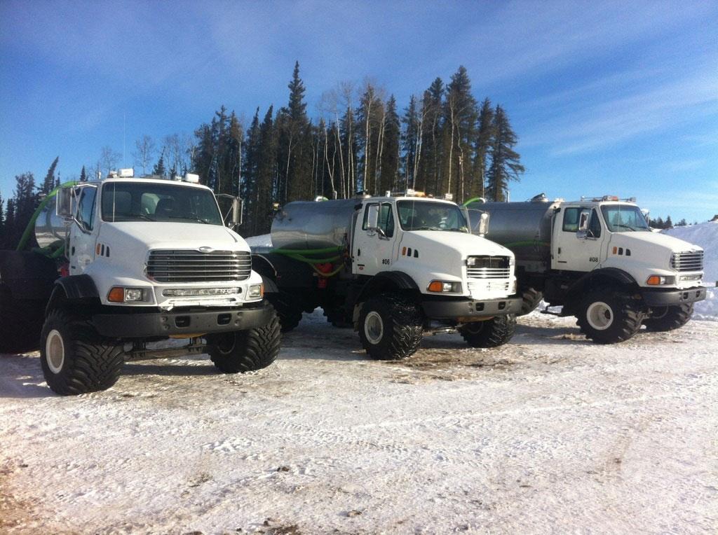Single-Axle-Water-truck